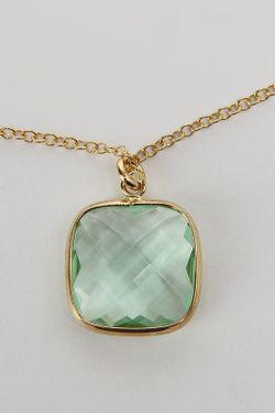 Кулон ZOCCAI                                                                                                              зелёный цвет