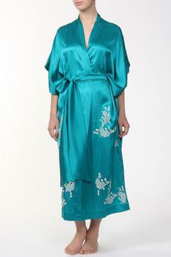 Пеньюар-Пояс Carine Gilson                                                                                                              голубой цвет