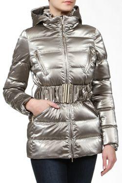Куртка С Поясом Blumarine                                                                                                              коричневый цвет