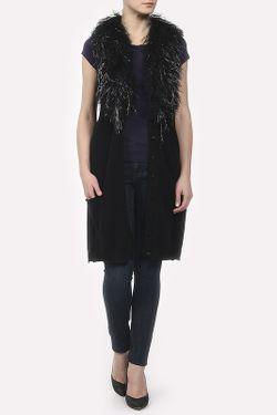 Жилет Вязаный Blumarine                                                                                                              черный цвет