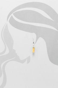 Комплект Подвеска Серьги Дом Янтаря                                                                                                              желтый цвет
