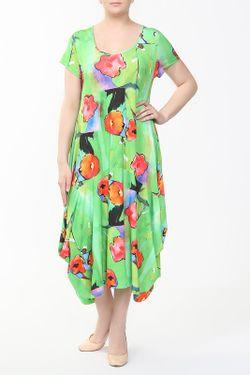 Платье LAZOLINA                                                                                                              зелёный цвет