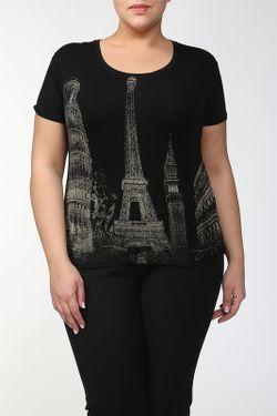 Блуза S.H.                                                                                                              черный цвет