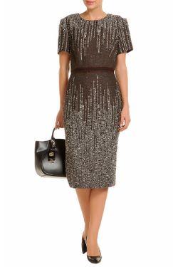 Платье Carolina Herrera                                                                                                              коричневый цвет