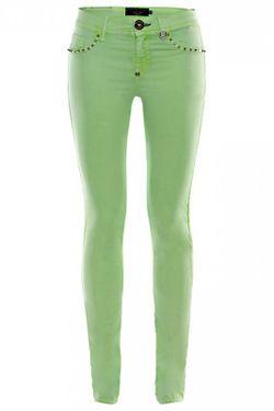 Джинсы Philipp Plein                                                                                                              зелёный цвет