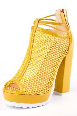 Туфли Carmelita                                                                                                              желтый цвет