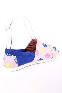 Мокасины Es Shoes                                                                                                              розовый цвет