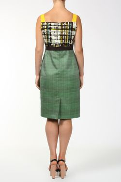 Платье Carolina Herrera                                                                                                              зелёный цвет