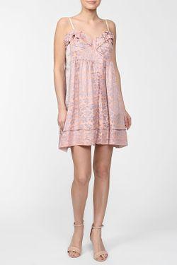 Платье Marc Jacobs                                                                                                              розовый цвет