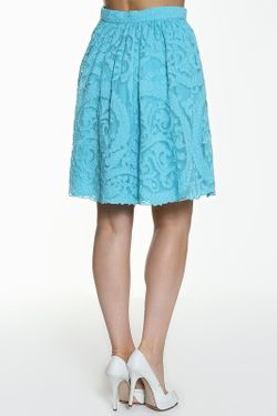 Юбка Roberto Cavalli                                                                                                              голубой цвет
