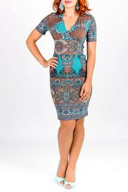Платье Lautus                                                                                                              многоцветный цвет