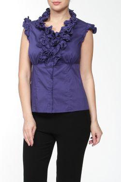 Блуза Luisa Spagnoli                                                                                                              синий цвет