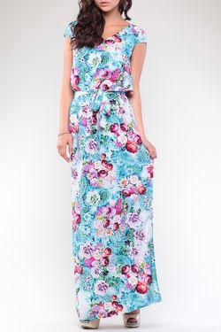Платье REBECCA TATTI                                                                                                              многоцветный цвет