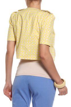 Жакет Patrizia Pepe                                                                                                              желтый цвет
