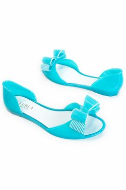 Балетки Furla                                                                                                              голубой цвет