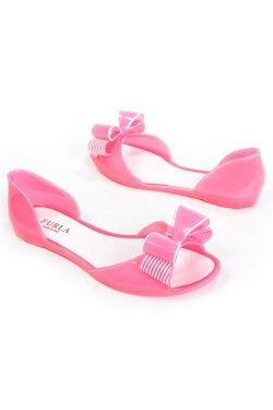 Балетки Furla                                                                                                              розовый цвет