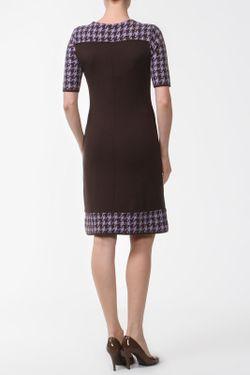 Платье AMO                                                                                                              коричневый цвет