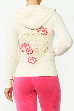 Толстовка Core Juicy Couture                                                                                                              белый цвет