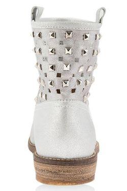 Ботинки Florens                                                                                                              Серебряный цвет