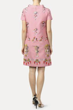 Платье Oscar de la Renta                                                                                                              розовый цвет