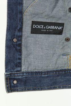 Куртка Dolce & Gabbana                                                                                                              синий цвет