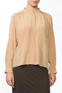 Блуза Chloe                                                                                                              коричневый цвет