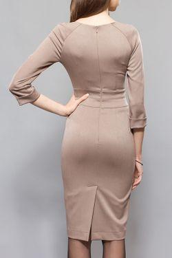 Платье BGL                                                                                                              бежевый цвет