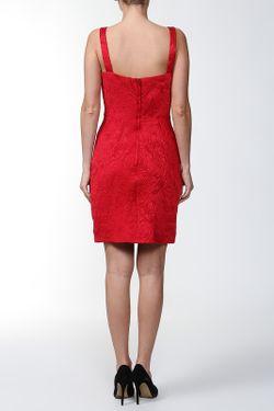 Платье Dolce & Gabbana                                                                                                              красный цвет