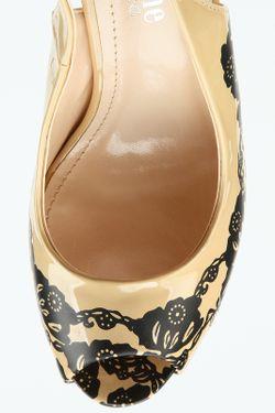 Туфли Открытые Makfine                                                                                                              бежевый цвет
