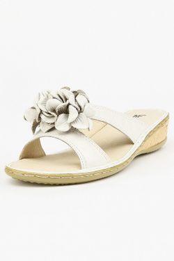 Сабо Makfly                                                                                                              белый цвет