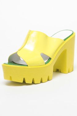 Сабо SprinkSolo                                                                                                              желтый цвет