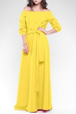 Платье REBECCA TATTI                                                                                                              желтый цвет