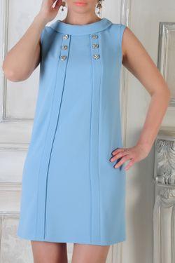 Платье Monocollection                                                                                                              голубой цвет