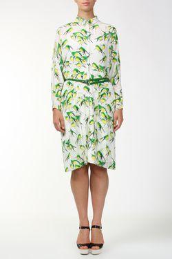 Платье Пояс Carolina Herrera                                                                                                              белый цвет