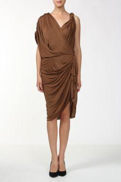Платье Lanvin                                                                                                              коричневый цвет