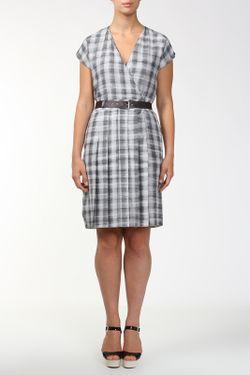 Платье Пояс Marc Jacobs                                                                                                              серый цвет