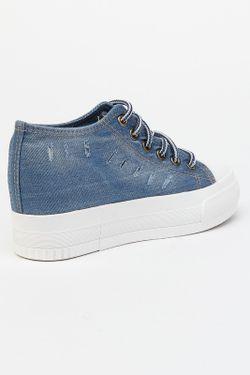 Кеды LANGGAO                                                                                                              синий цвет