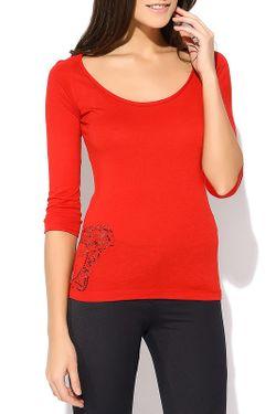 Лонгслив Versace Collection                                                                                                              красный цвет