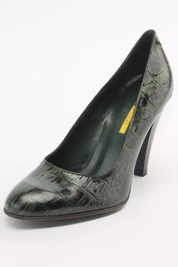 Туфли Manas                                                                                                              зелёный цвет