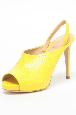 Босоножки Reed Krakoff                                                                                                              желтый цвет