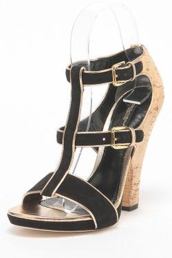 Босоножки Dolce & Gabbana                                                                                                              чёрный цвет