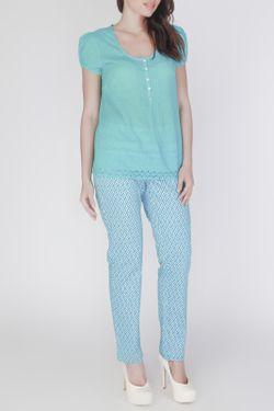 Блузка Vis-a-Vis                                                                                                              синий цвет
