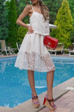 Платье Bezko                                                                                                              белый цвет