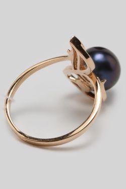 Кольцо DE FLEUR                                                                                                              черный цвет