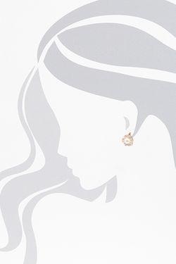Серьги DE FLEUR                                                                                                              белый цвет