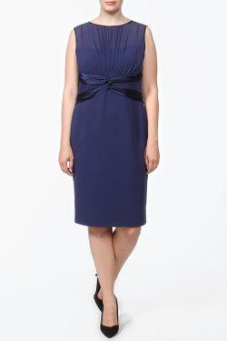 Платье Luisa Spagnoli                                                                                                              синий цвет