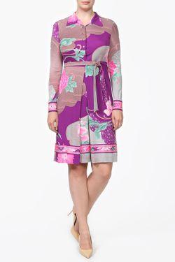 Платье Пояс Leonard                                                                                                              фиолетовый цвет
