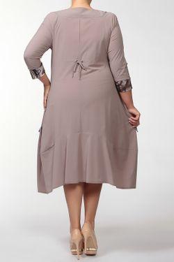 Платье Terra                                                                                                              коричневый цвет