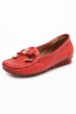 Мокасины Mamma Mia                                                                                                              красный цвет