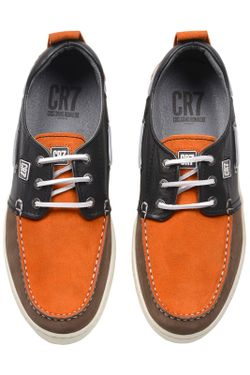 Кеды Cr7                                                                                                              коричневый цвет